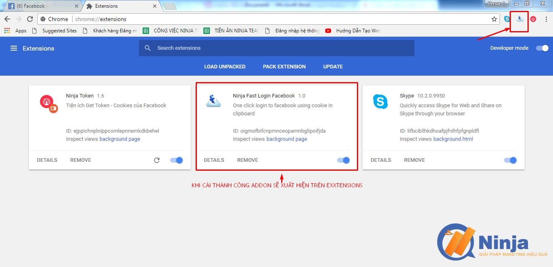 huong dan cai ninja fast login facebook 4 Hướng dẫn cài Ninja fast login facebook