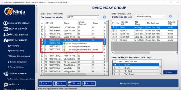 đăng bài lên nhóm với tool auto post group facebook